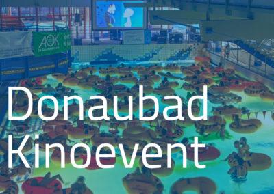 Kinoevent im Donaubad (am 31.01.)