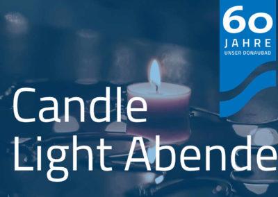 Candlelight Abende von Oktober – März (3. Sa. im Monat)