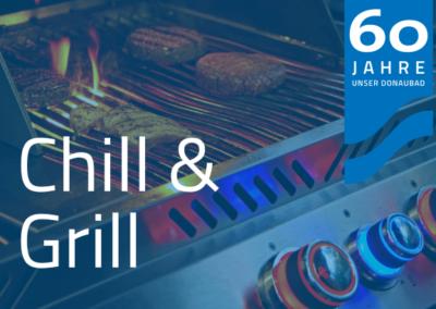 Chill & Grill von Mai – September (3. Sa. im Monat)