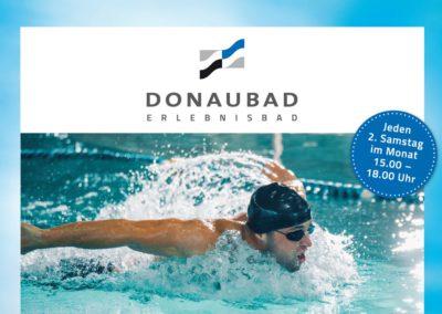 Ihr Schwimmabzeichen im Donaubad (2. Samstag im Monat)